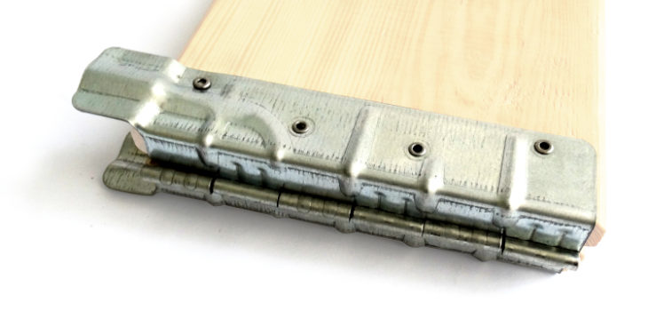 Hinges for collars 1,25 x 200, Hinges 1,25 x 200 for collars