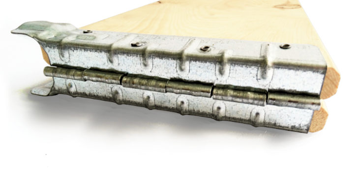 Hinges for collars 2,00 x 200, Hinges 2,00 x 200 for collars