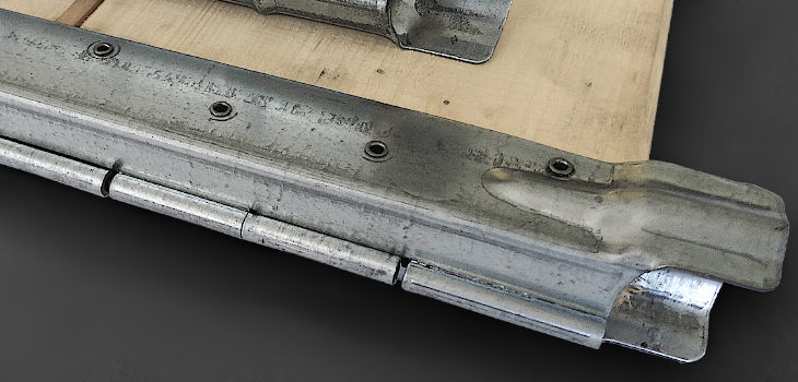 Hinges for collars 2,00 x 345 , Hinges 2,00 x 345 for collars